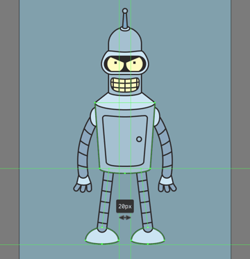 finishing off the character