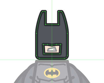 adding the outline to the mask
