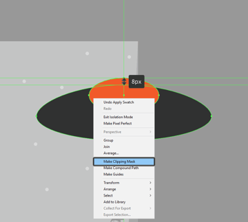 adding the hard shadow to the upper section of the saucer
