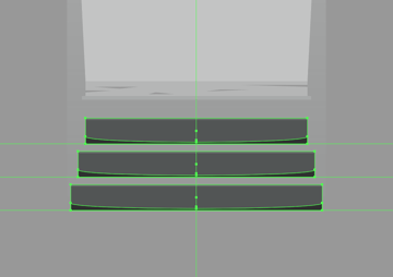 adding the shadows to the stairs