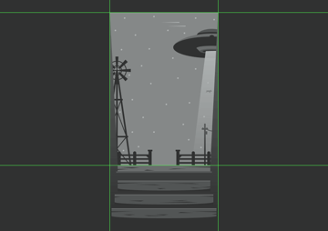 masking the main composition