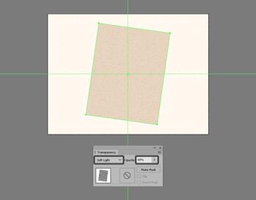 adding the texture to the bottom polaroid