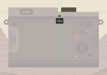 adding the mode dial to the upper section of the camera