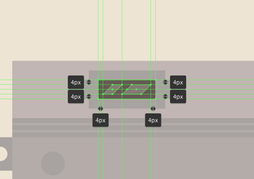 adding the reflections to the viewfinder