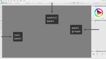 affinity designer interface