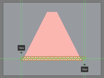adding the second row of bricks