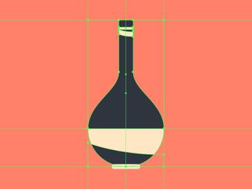 adding details to the center vase