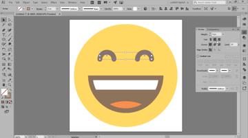 finishing off the emoji