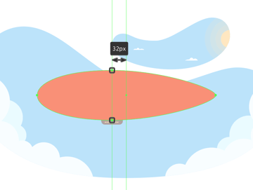 adjusting the shape of the balloon section