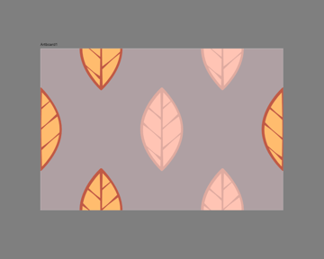 adjusting the colors of some of the leaves