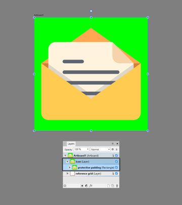masking the entire icon