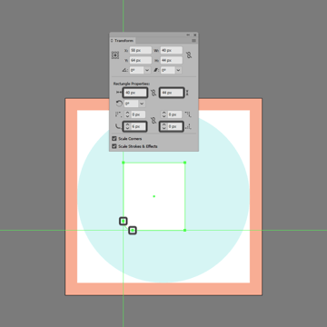 adjusting the corner of the front section in ai