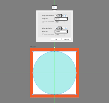 creating the background in ad