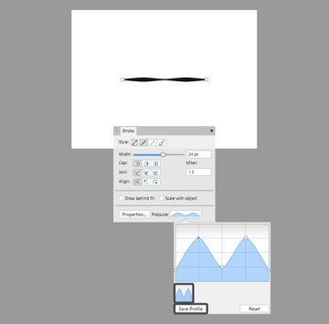 example of saving a custom pressure graph