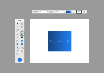 reversing the color stops of a gradient