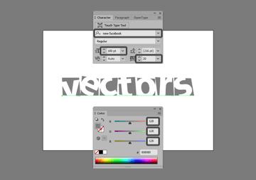 creating the custom text