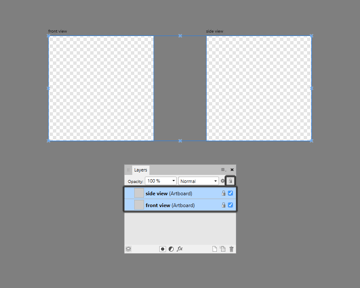 example of locking the artboards