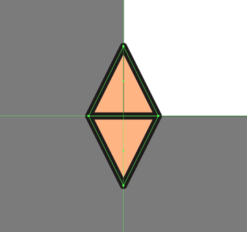 adding a copy of the main shape of the third pattern