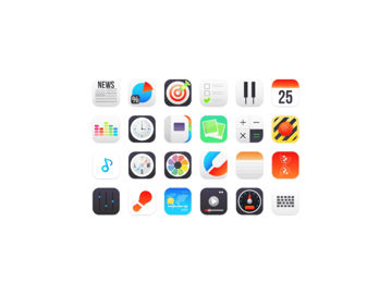 flat icons example
