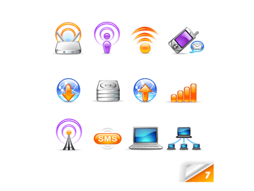 network icons example