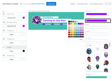 adjusting the color of the social media icons