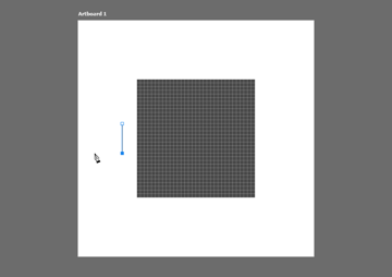 drawing a path using the pen tool onto the pixel grid within photoshop