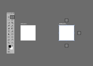 example of setting up multiple artboards in photoshop