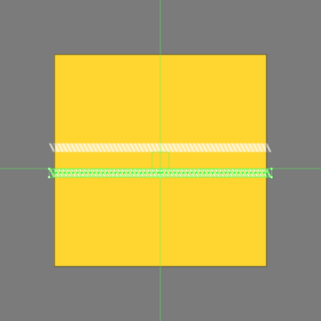 adding the second row of diagonal lines