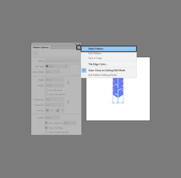make pattern Illustrator