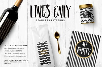 Lines Only Patterns