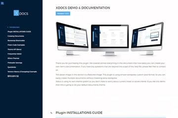 XDocs - Plugin creador de documentación para WordPress