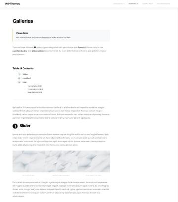 The Affair galleries demo content