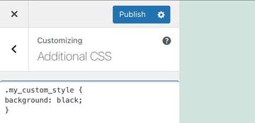 Add CSS styles