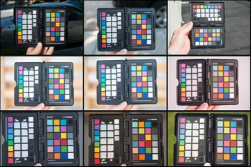 Reference images for creating general ColorChecker profiles