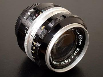 A fine example of vintage Nikon manual-focus lens