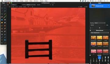 Using Quick Mask Mode in Pixelmator