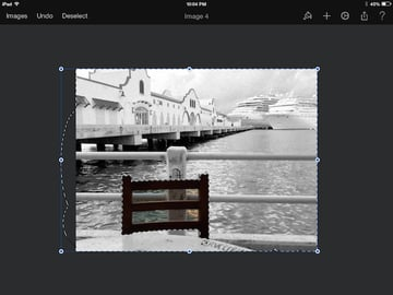 Easy selections in Pixelmator for iPad