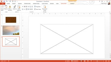 Flash object is a big rectangle with an X