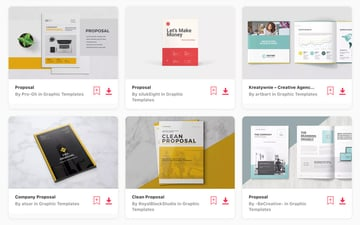 Professional Business Proposals on Elements