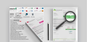 Creative Invoice Template Word Docs and More