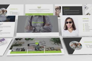 PowerPoint Resume Presentation Templates