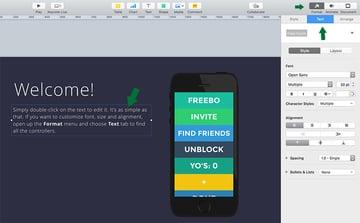 Text in Apple Keynote anpassen