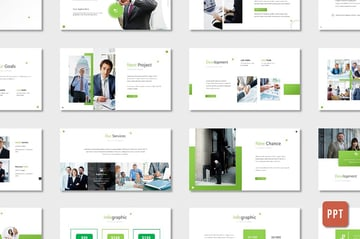 Pro Business Proposal Template - PPT