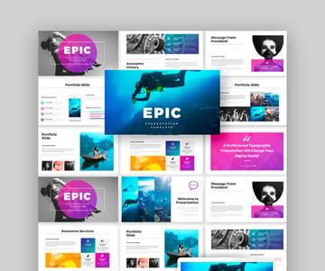 Epic Keynote Presentation Template