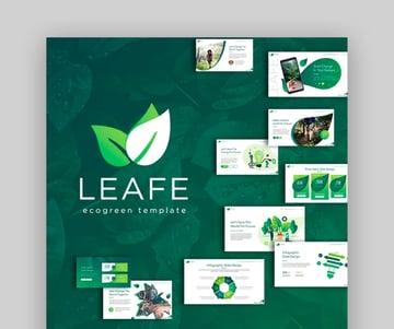 Leafe Ecogreen Keynote Template