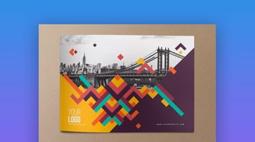 Colorful Pattern Brochure