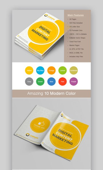 Content Marketing Brochure