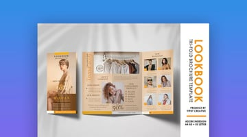 Fashion and Photography Trifold Brochure