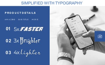 Simplified with Typography