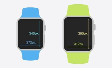 Apple Watch Screen Resolutions